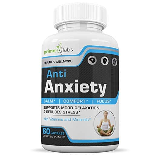 Prime Labs natural supplements for anxiety