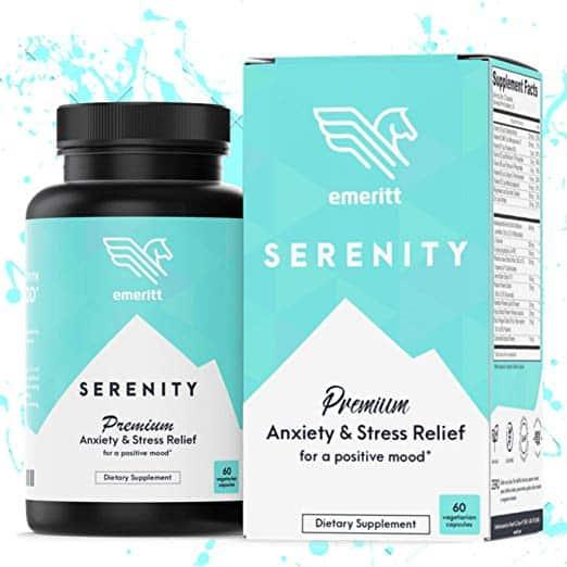 Emeritt natural supplements for anxiety