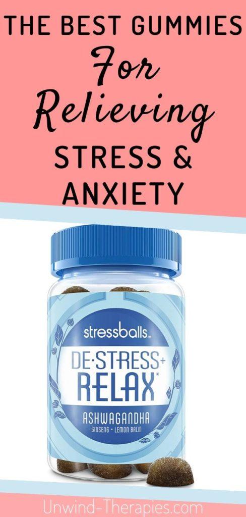 Stressballs De-Stress Gummies