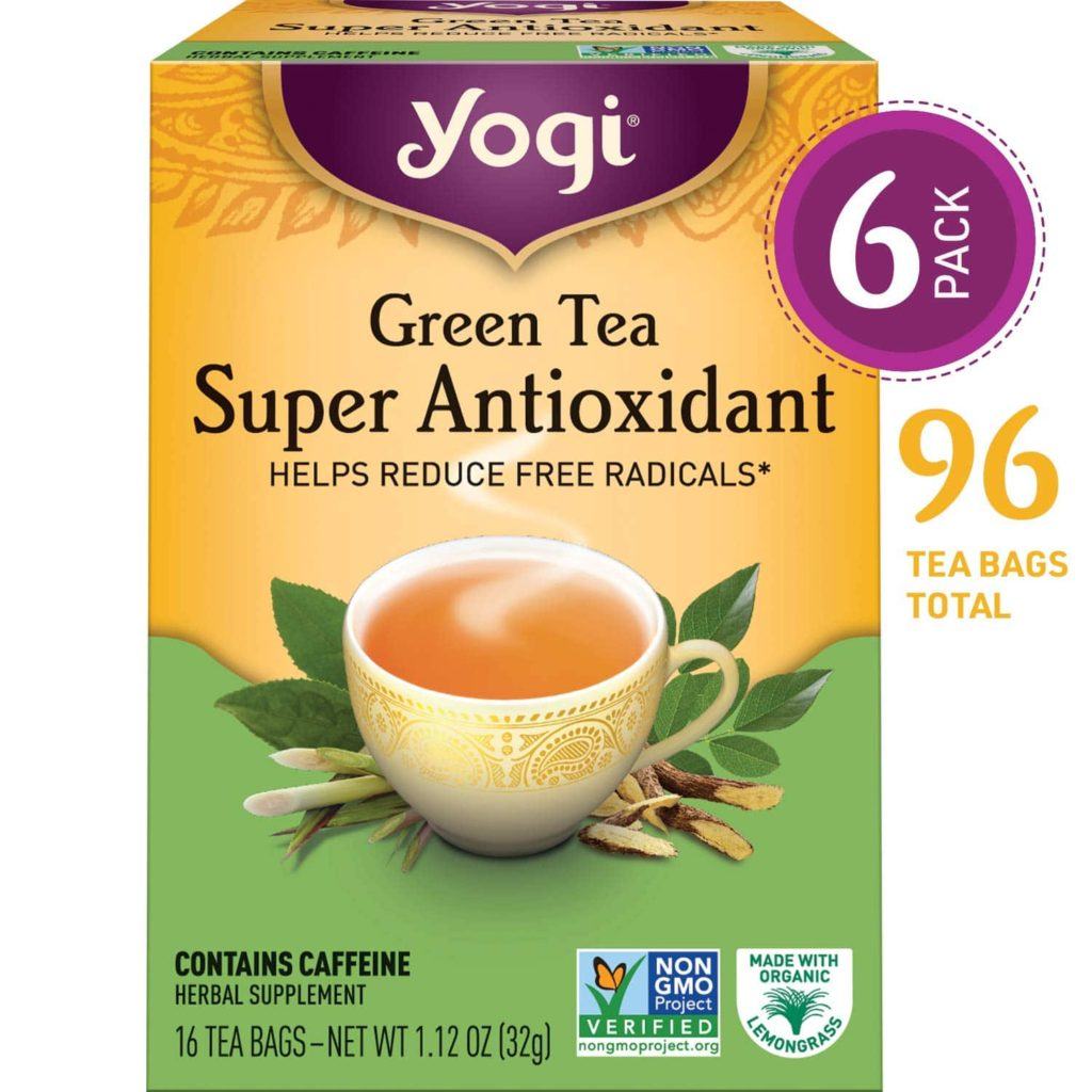 Yogi Green Tea for Anxiety, Stress, and Depression