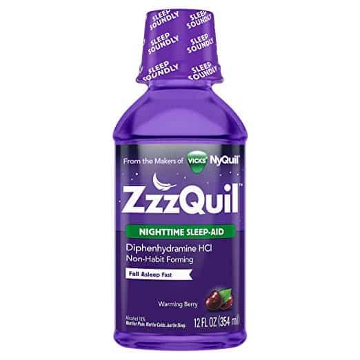 melatonin vs zzzquil